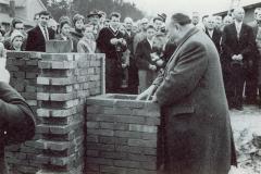 Grundsteinlegung1959-MinPräs.-Hellwege