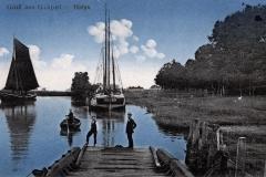 Besan-Ewer Wilhelmine von Warstade in Gräpel um 1900