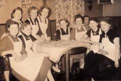 Schifferball im Gasthaus Winter 50er Jahre