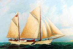 Schonerschiff Adler Kpt. D. Offermann (1913)