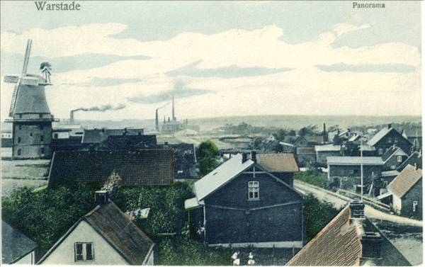 Panoramablick Richtung Mühle und Portland