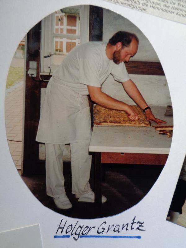 Bäcker der ersten Stunde Holger Grantz