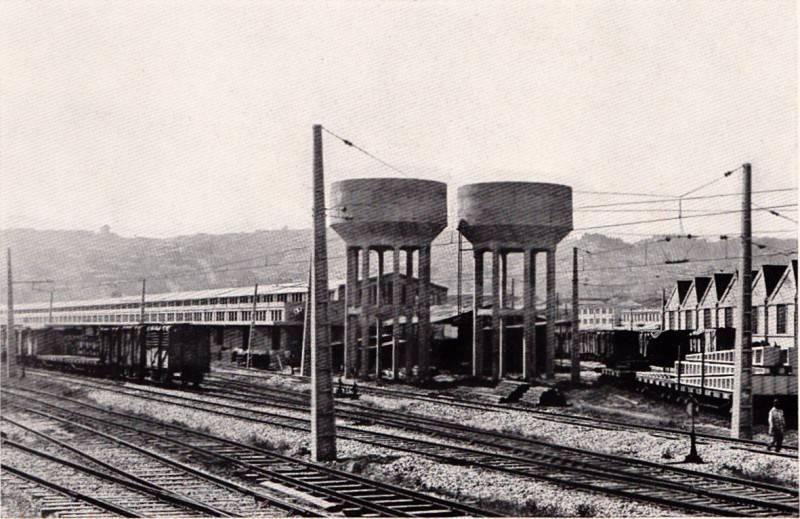 Bahnhofsanlagen Bodega-Baron Chile