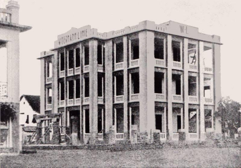 Kamerun Verwalt.-Gebäude Woermannlinie Duala