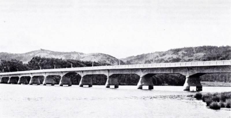 Lebu-Brücke in Chile